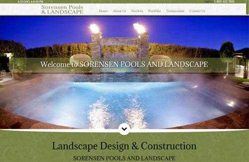 SORENSEN POOLS AND LANDSCAPE